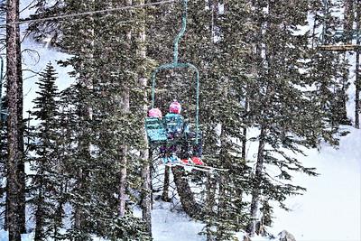 Skiing (Snowy Range, WY)