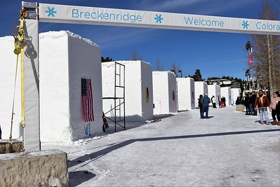 Ice Sculpture Contest, Breckenridge, CO