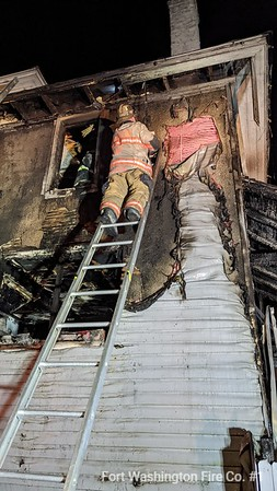 Whitpain House Fire