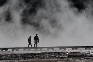 Steam silhouette Yellowstone _MG_4311