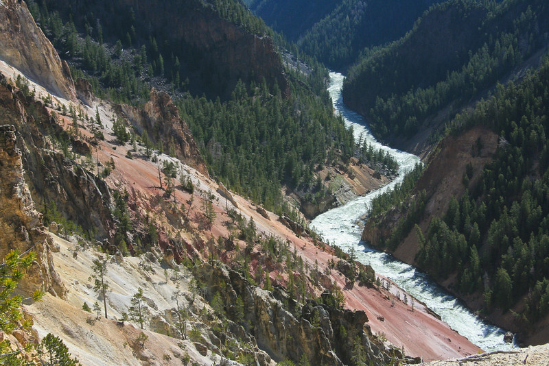 Yellowstone River Canyon at Lookout Point