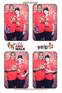 YELP at Aids Walk 2014