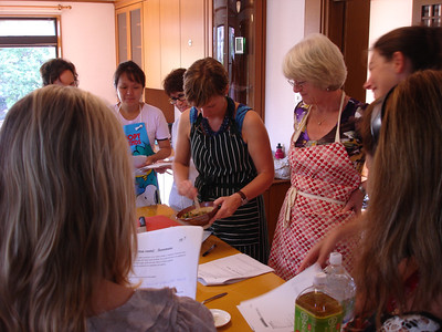 Japanese Cooking Class October 7, 2010