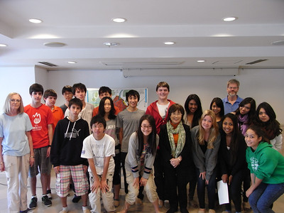 After the lecture by Mrs. Keiko Ogura