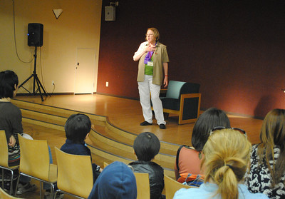 Visiting Author Rosemary Wells, April 17 2014