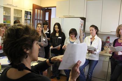 Lebanese Cooking Class November 11, 2011