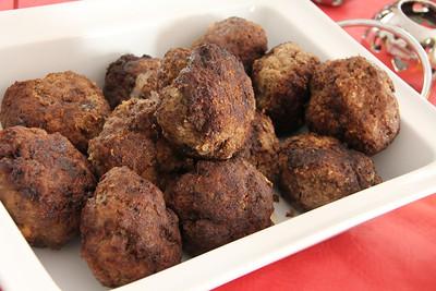 Holland Cooking Class November 30, 2011: Dutch meat balls