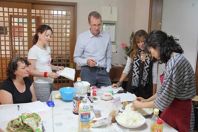 Japanese Cooking Class September 20, 2012