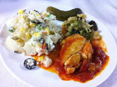 Romanian Cooking Class, December 4, 2012
