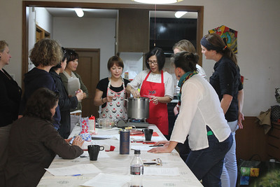 Japanese Cooking Class, March 22, 2013