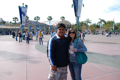 Michael (HI) and Abbey (KS) at California Adventure.