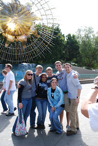 YLC-ers at California Adventure.