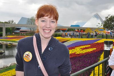 Melinda Becker, Kansas, at Epcot