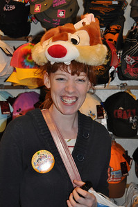 "Melinda Becker, Kansas, rocks the ""Dale"" hat!"