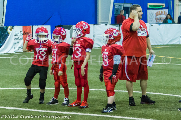 YMCA Arena Football Bulldogs vs Stempede 3-30-14