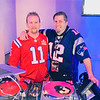 DJs from Crown Special Events, Chris McClure of Chelmsford and Terry Moran of Westford