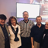 From left, YMCA past President Wendell Iby and Margie Miller, both of Lowell, YMCA board member Chris Dick of Tewksbury, Rich Iby of Dracut, and Lee Ouellette of Lowell