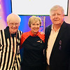 From left, the YMCA's Joe Meehan and Nancy Meehan of Lowell, and George Duggan of Hudson