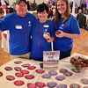 From left, Mike Hoey of Dracut, Debbie Dobens of Nashua and Karen Espinola of Lowell