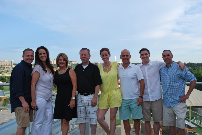 Mark and Erin Lewis, Paula and Scott Waymire, Tara and Charlie Ammeen, Brandon and Denis Kenney