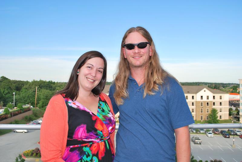 Erin Hubert and Jon Prewitt