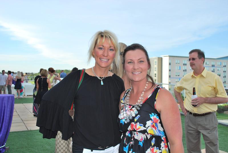 Andrea Clark and Veronica Graham
