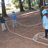 Rope Bridge Building Exercise (made by the kids)