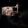 Our Cabin at Night