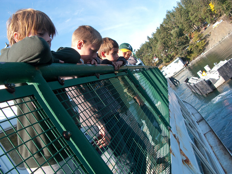 Waiting for the Ferry at Orcas