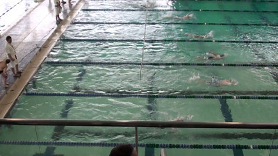 8 and under boys 50 free