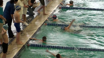 8 and under boys medley relay