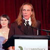 Sharon Gannon & David Life at the 2008 Farm Sanctuary Gala in NYC