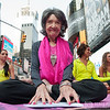 Tao Porchon-Lynch at Solstice in Times Square