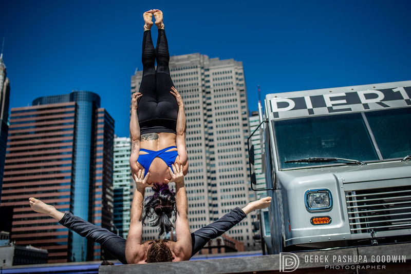 Acroyoga with Sean Langhaus and Emily Lesinsky of Warrior Bridge in NYC