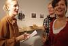 YOK NYT -näyttelyn avajaiset 9-2012 (taustalla Oton ja Paulan kuvat)