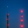 Emley Moor Mast and Jupiter