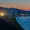 Scarborough Sea Front at Night