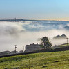 Morning mist over Sowerby