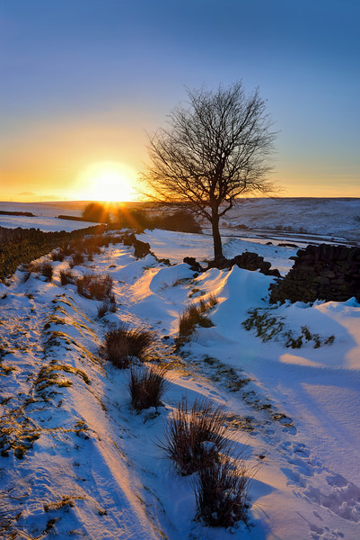 Cragg Vale at Winter