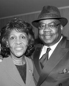 Maxine Waters with Joe Fisher