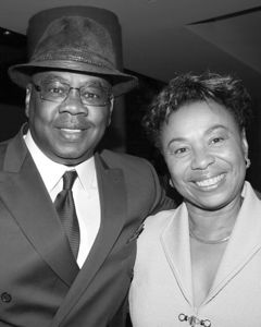Joe Fisher with Barbara Lee (Formatted for 4 x5  or 8 x 10 )