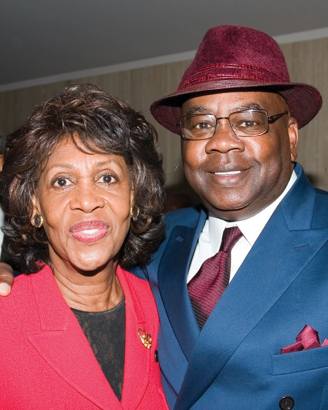 Maxine Waters with Joe Fisher