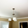 Dining area light fixture.