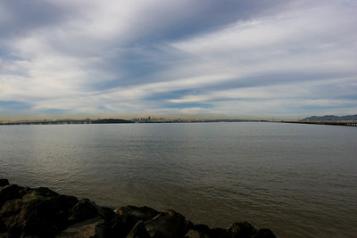 Another one for the same point near the Berkeley Marina looking at San Francisco.