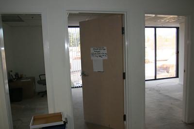 Left - Steve Leibman's?erin's old...old offices... Rt...Ed Harris' old office...