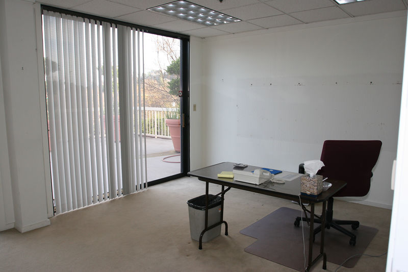 Most people will remember this as Michael's office. It started out as Dan Whalen's office and now Steve Ryan is using it to close the doors.