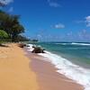 Haena beach slide