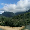 Hanalei Bay out from river