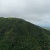 pan of ocean from up the mnts  good