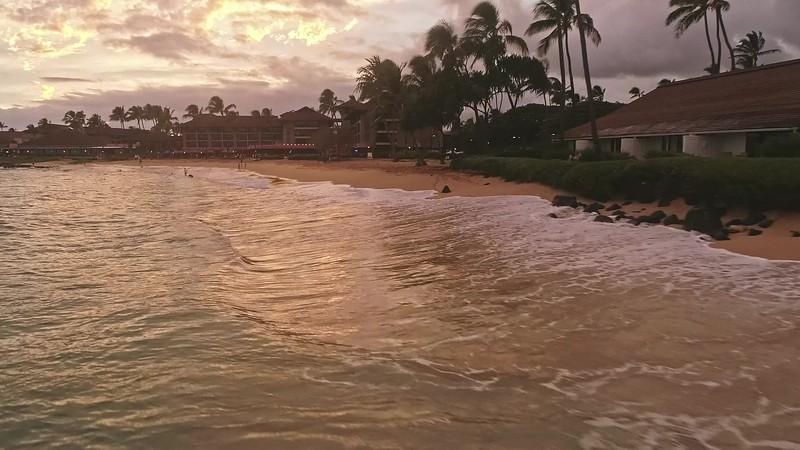 up sheriton coast at dusk low